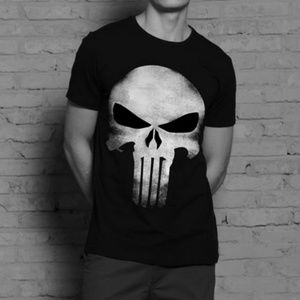 Other - Punisher Skull 3D Tee Shirt (Medium)